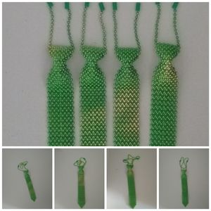 Saint Patrick's Day Tie Green One Size Fits Most